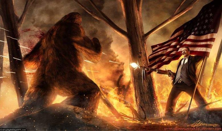 I+beg+to+differ+teddy+slaying+bigfoot+_5