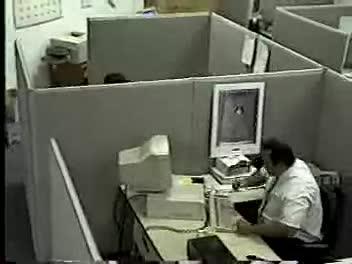 LMFAO. .. He Barry Bonds the outta that monitor. LMFAO!!