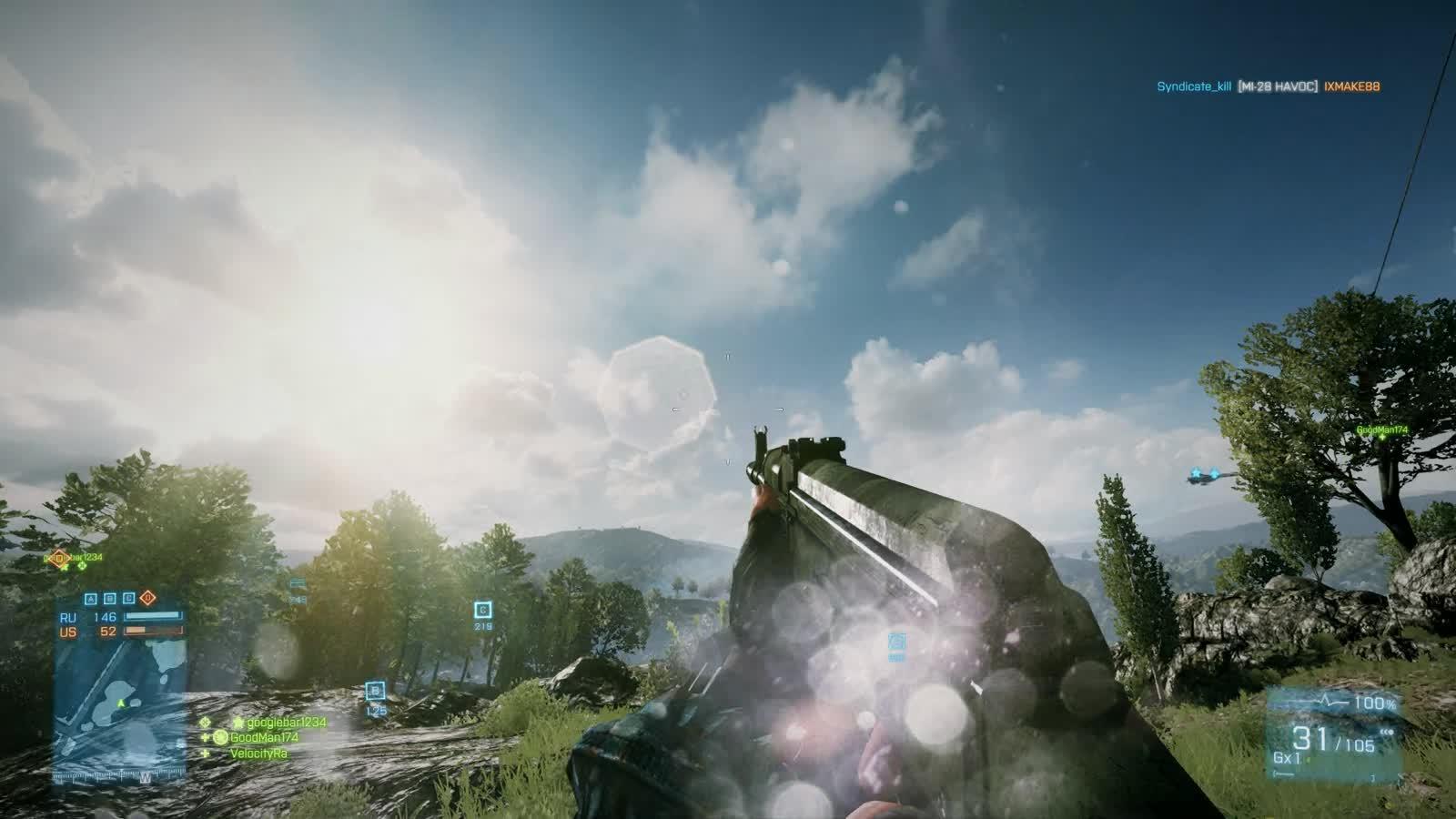 Battlefield 3 60fps. .. thats battlefield 3
