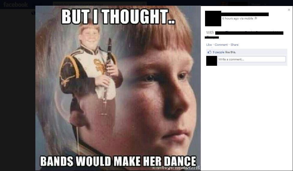 (1)Facebook. I hate Facebook. five word limit