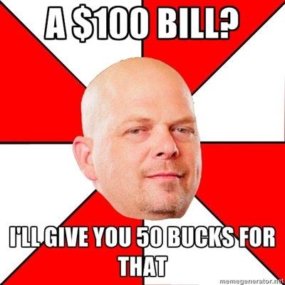 100$?. . 100$?