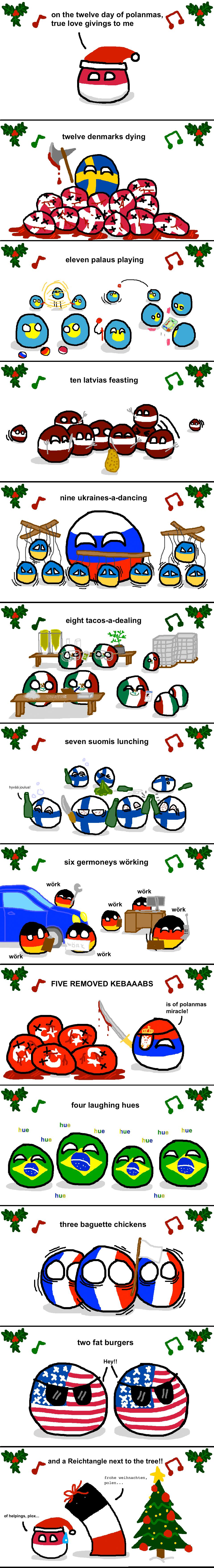 12 days of polanmas. . poland Christmas usa germany