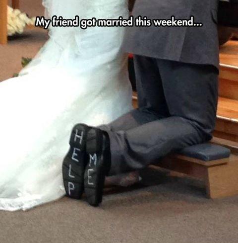 A Groom's Plea. . friend got married this weekend... A Groom's Plea friend got married this weekend