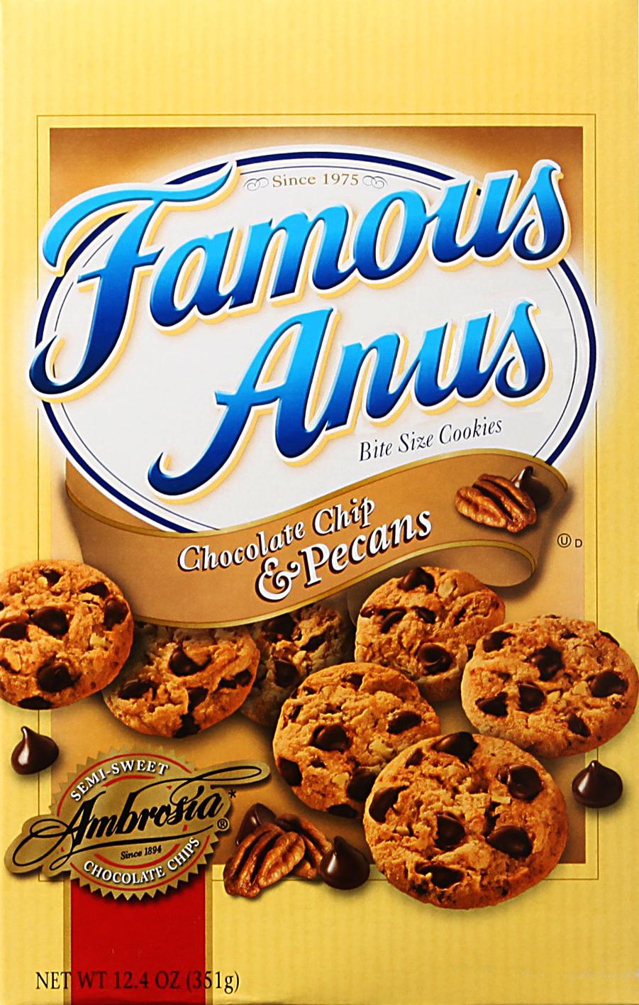 A Shoop. Famous Anus. Famous Anus