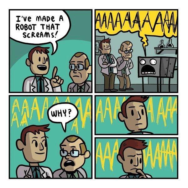 AAAAAAARGH!. . ROBOT AAAAAAARGH! ROBOT