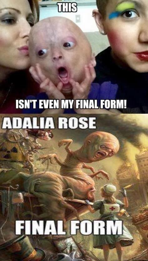 Adalia's Final Form. Description. ISN' T was MY FINAL mm! mgr tags