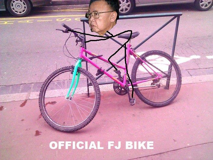 Admin's Bike!. We should all get one and do a FJ Rally!.. I noticed it's a girl's bike....... admin bike FJ