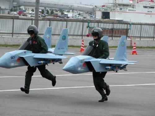 Air ForceTraining. ...having some fun..... yeah....fun.... air Boobs