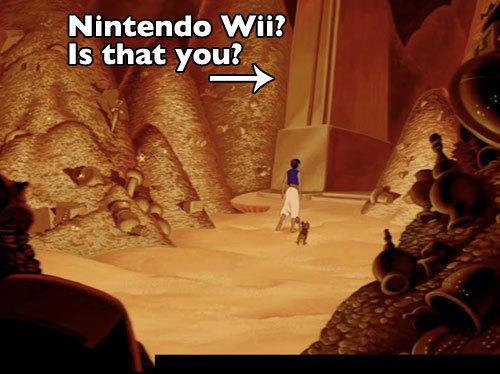 Aladdin. .. Ah, it seems Disney predicted Nintendo becoming a forgotten relic. Aladdin Ah it seems Disney predicted Nintendo becoming a forgotten relic