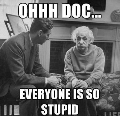 Albert Einstein. . At Air.. Nice pic ruined by stupid text Doc Einstein