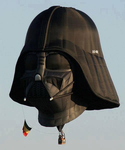 Amazing Vader Balloon. .. ....frickin germans haha Amazing Vader Balloon frickin germans haha