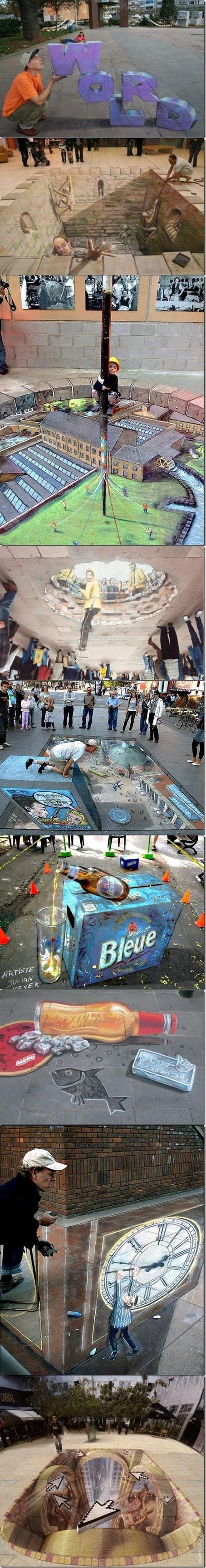 Amazing 3D sidewalk art part 2. part 1 /funny_pictures/155184/Amazing+3D+sid..... and then it rains :) Amazing 3D sidewalk art part 2 1 /funny_pictures/155184/Amazing+3D+sid and then it rains :)