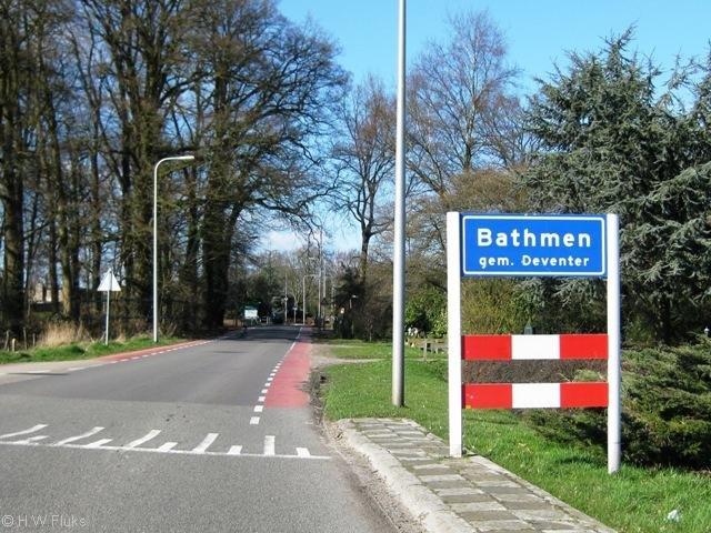 An actual place in the Netherlands. .. NETHERLANDS, HELL YEAH bathmen