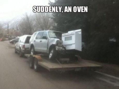 An oven?. . i' iri' iihiko, an um An oven? i' iri' iihiko an um