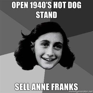 Anne Franks. Get Ya Anne Franks. OPEN 1940' s HOT STAND me. g notr. . raet anne frank