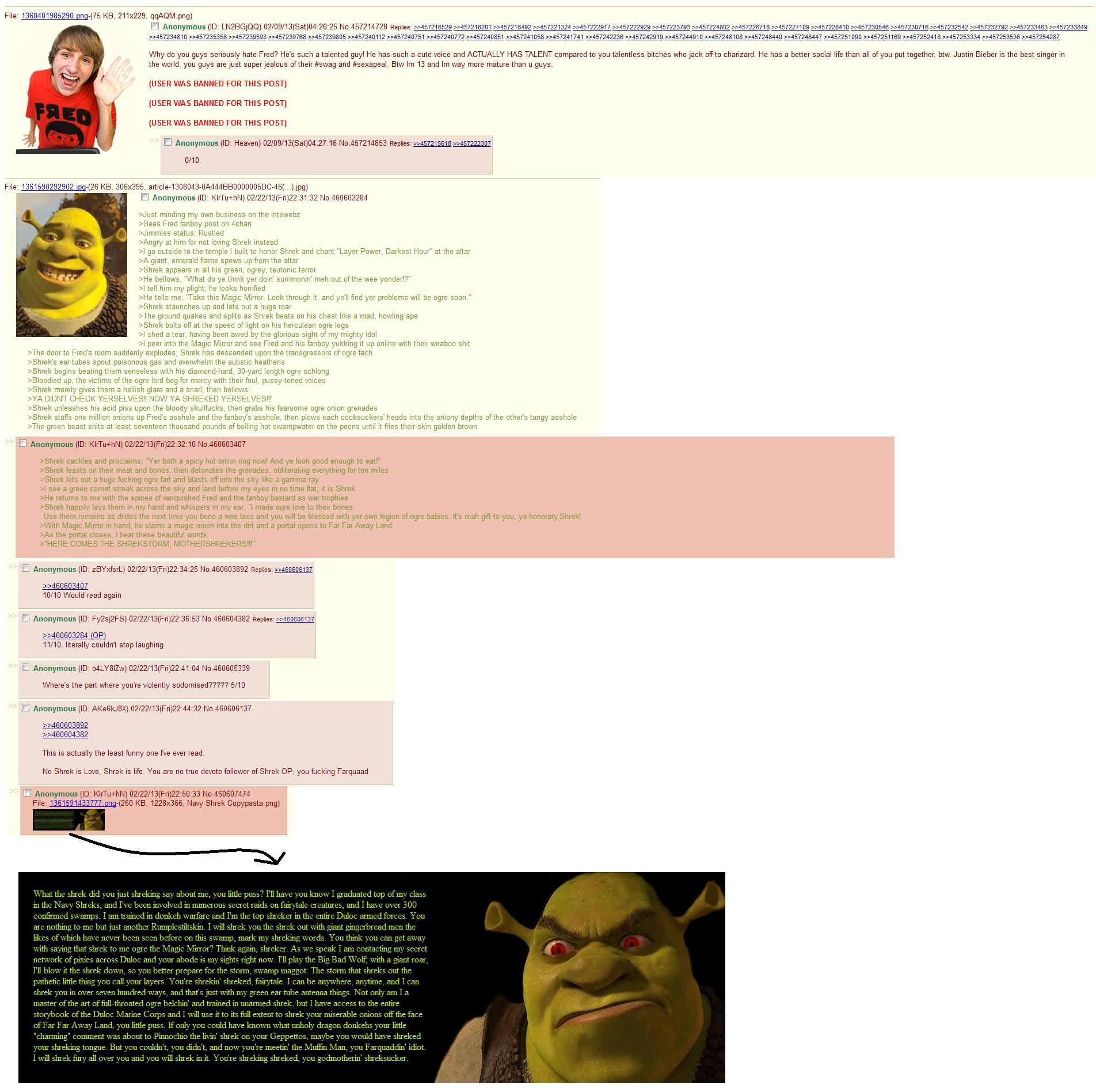 """Another Shrek story. .. I'm so tired of Shrek posts. Somebody doesn't like Shrek, Shrek murders people, something something onions, Shrek the dude up the ass, """"Shrek is love, Shre Another Shrek story I'm so tired of posts Somebody doesn't like murders people something onions the dude up ass """"Shrek is love Shre"""