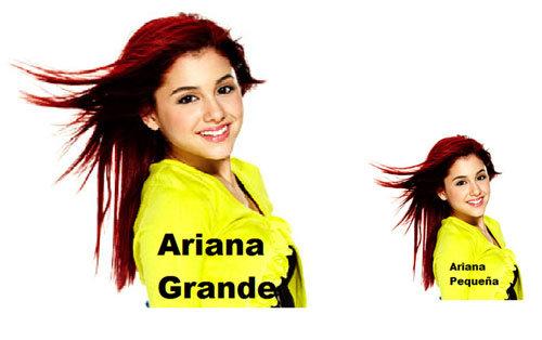 Ariana Grande. .. Or petite. Or piccola. celebrity puns funny lol