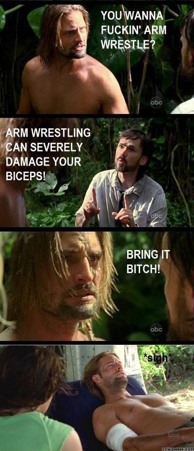 """Arm Wrestling. It hurtz.. ARM ARM WRESTLING I.,. MN SEVERELY """" BICEPS! ytp. tr. lol get served kid arm Wrestling Lost thestickdiver"""