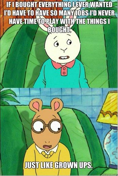 Arthur gets it. . ups.. Arthur knows what's up Arthur gets it ups knows what's up