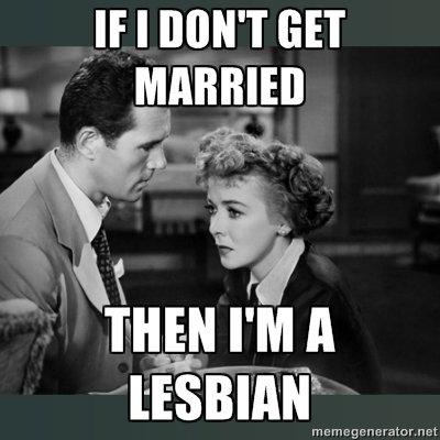 As a woman in 1950's. . met As a woman in 1950's met
