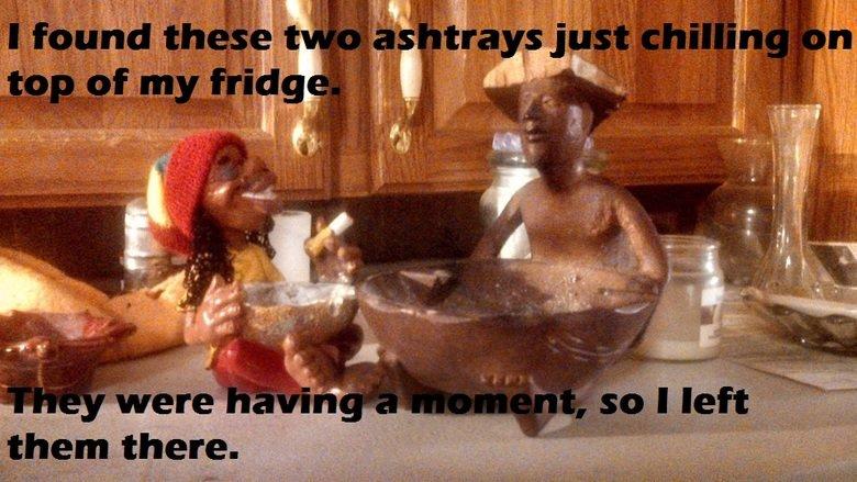Ashtrays.. . Ashtrays