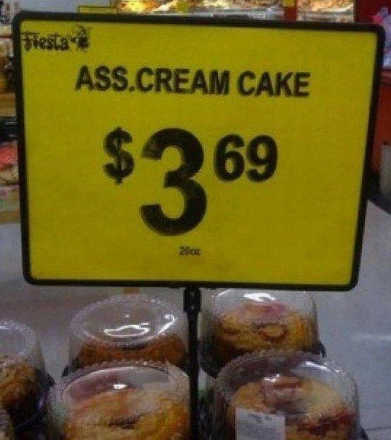 Ass Cream Cake. Yummy. funny lol LMAO WTF fail epic funny pic