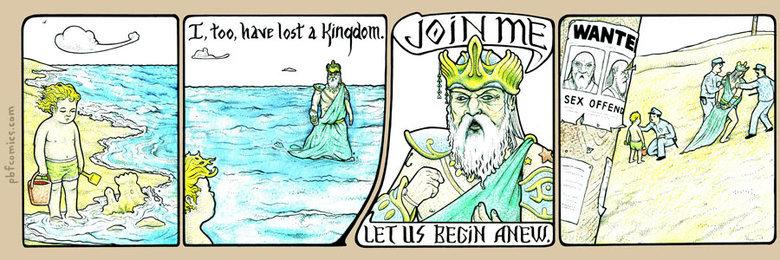 Atlantis. .. Poseidon's salty butthole. Atlantis Poseidon's salty butthole