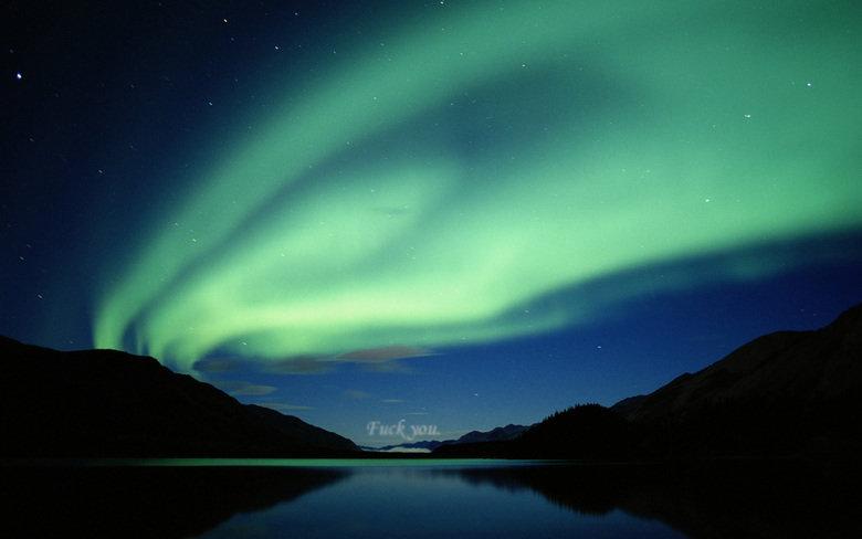 "Aurora Borealis. .. ""I want "" -merl beautiful Nature"