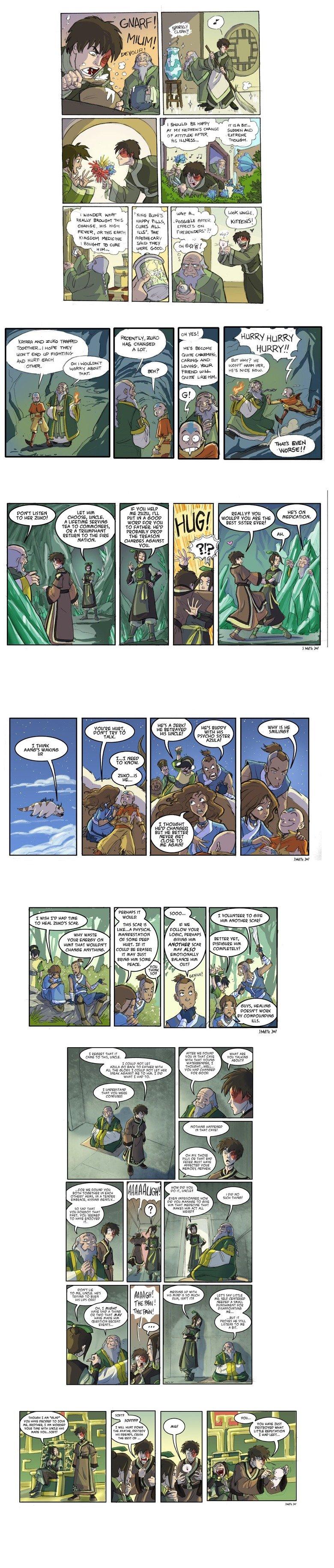 Avatar Comic Comp. Comics based on the season 2 finale .. poor zuko Avatar Comic Comp Comics based on the season 2 finale poor zuko