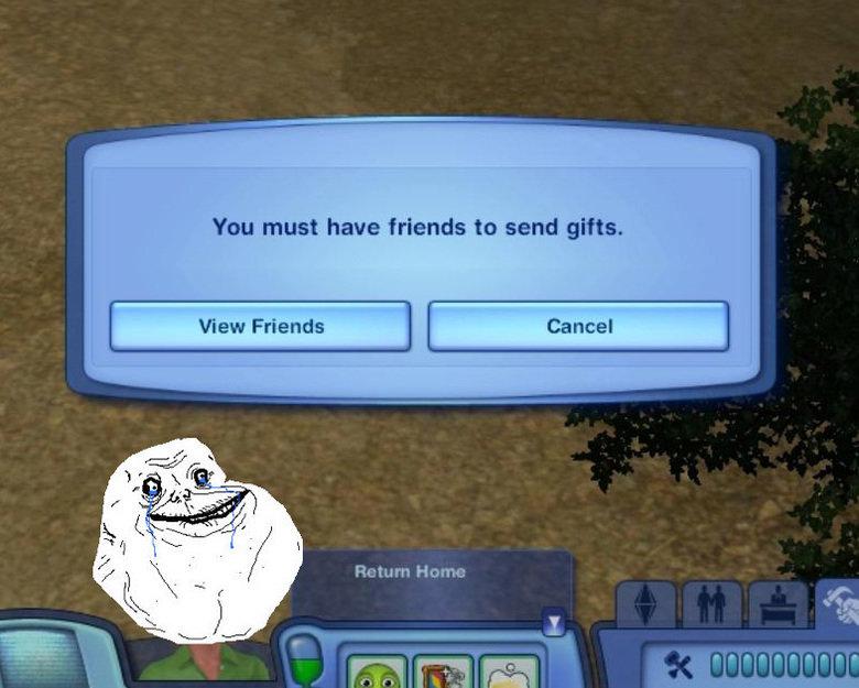 Aww man. Shoot. You must have friends to send gifts. Jctum Harm: Dangert