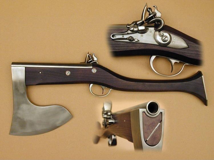 Axe rifle. For the lumberjacks war.. Shoot first, axe questions later Axe rifle For the lumberjacks war Shoot first axe questions later
