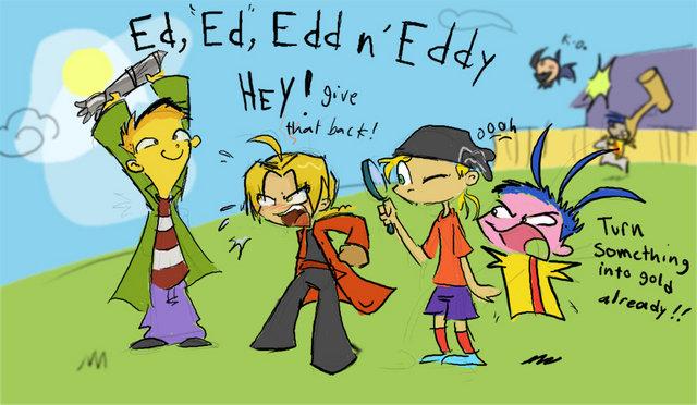 Ed,Ed,Edd n Eddy. . eds funny