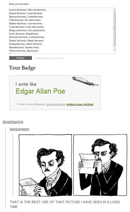 Edgar Allan Poe. . here. borny. . Gimme ' the booty. lick earth. booty. I Hill?' -I' ll boota. booty, Isaw tha booty, lariat the borats. Lari, Hint I borats. Br Edgar Allan Poe here borny Gimme ' the booty lick earth I Hill?' -I' ll boota Isaw tha lariat borats Lari Hint Br