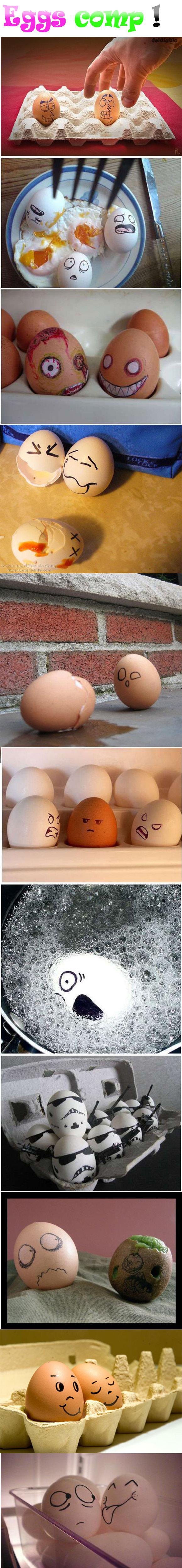 Eggs win. enjoy !.. me too! :D Eggs win enjoy ! me too! :D