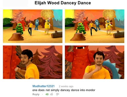 Elijah Wood Dancey Dance. Tardblr.. Elijah Wood Stabby Stab Elijah Wood Dancey Dance Tardblr Stabby Stab
