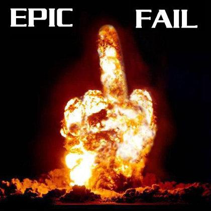 Epic fail. . Bomb epic fail Explosion