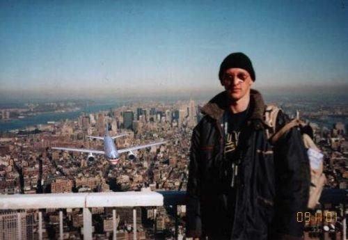 Epic photobomb. 9/11 style... oh hai Epic photobomb 9/11 style oh hai