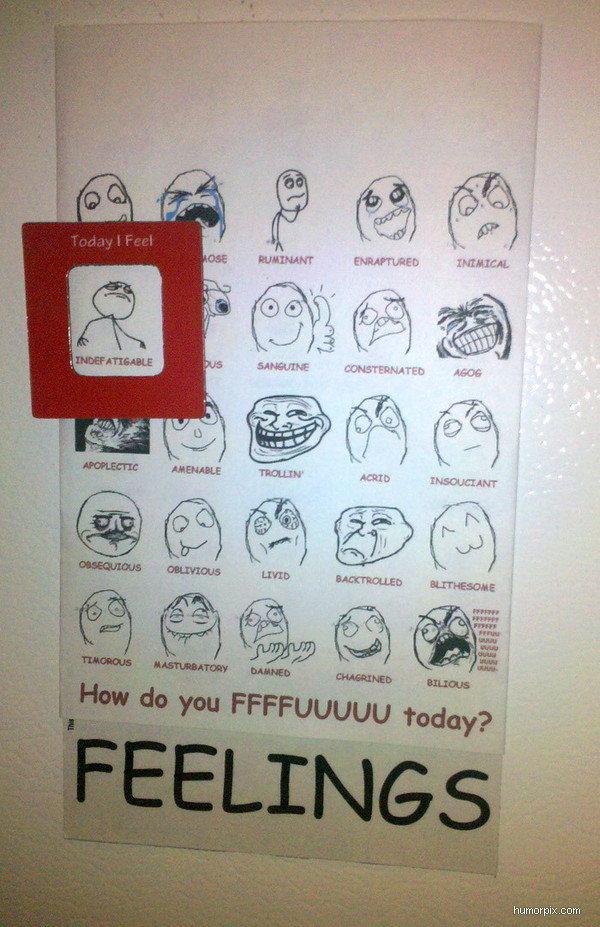 EPIC EMOTIONS CHART!. . humorpix. corn emotions chart MEMES