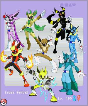 Evee Power Rangers Unite!. GOGO POWER RANGERS!.. EPICEPICEPIC evee power Ranger