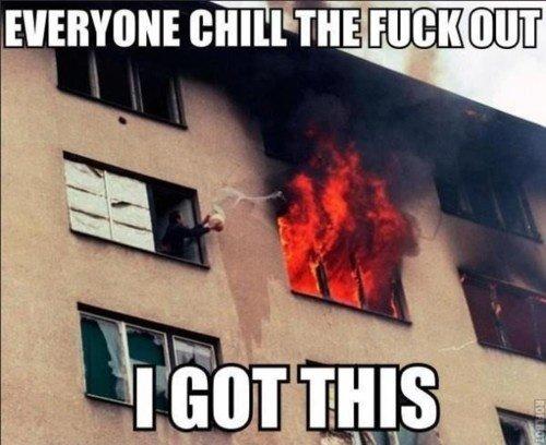 Everyone Chill!. . Everyone Chill!