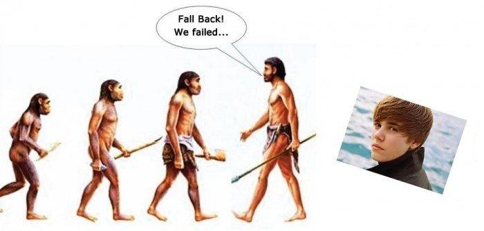 EVOLUTION. .. reposts everywhere