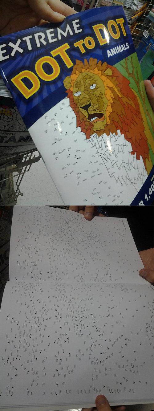 Extreme Dot to Dot. . interesting extreme dots