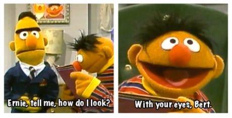I had enough of your shit, Ernie. . funny lol TV sesame street WTF joke