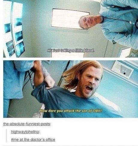 I hate the docThor.. . I hate the docThor