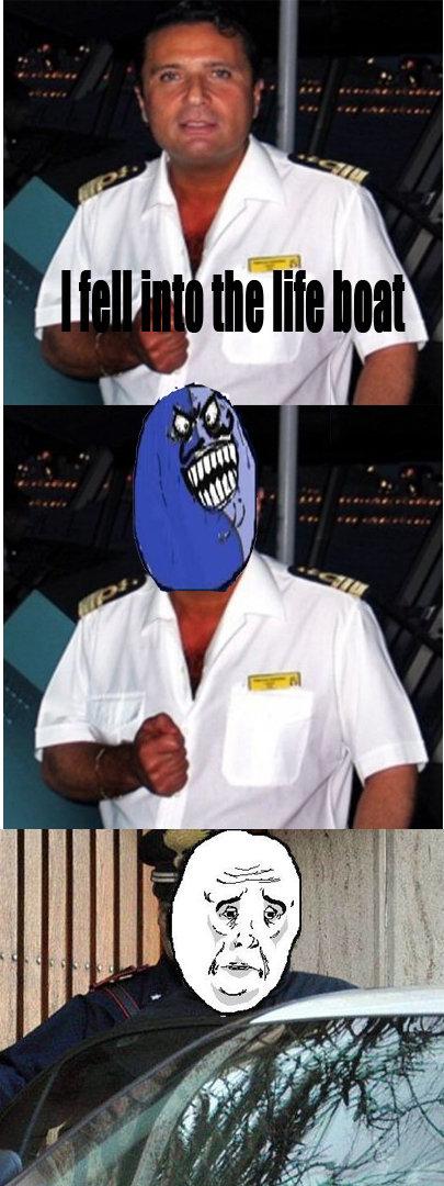 I lied captain. . I lied captain
