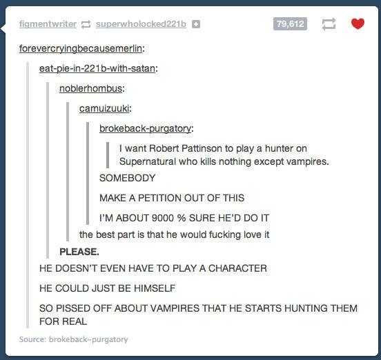 """""""I've done my time."""". CEEEEEEEEEDRIIIIIIIIIIIIIC!. forewent: [ use me Mn: eaten: Bus: broke has : I want Robert to play a hunter on Supernatural when We nothing """"I've done my time """" CEEEEEEEEEDRIIIIIIIIIIIIIC! forewent: [ use me Mn: eaten: Bus: broke has : I want Robert to play a hunter on Supernatural when We nothing"""