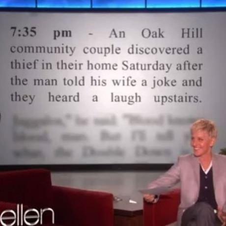 I wonder what the joke was?. . I wonder what the joke was?