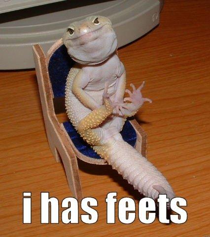 I has feets. .. how can u make a chair that small feet chair salam
