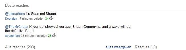 I LOL'D. PWND. Sean connery