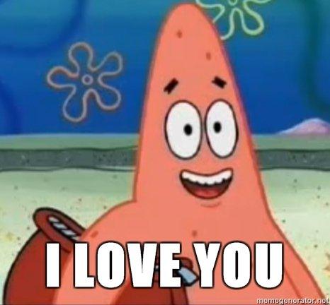 I LOVE YOU. .. and i love you too I LOVE YOU and i love you too